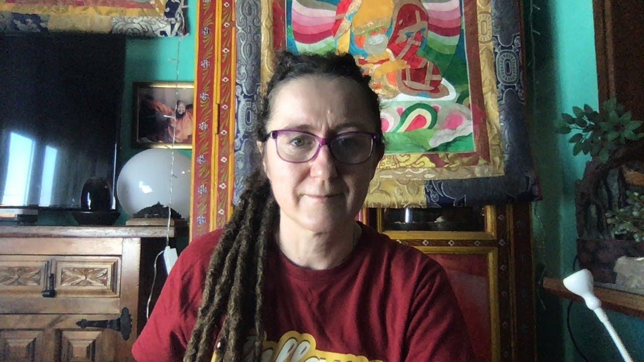 Lama Gangchen Tantric Self-Healing 2- Commentary by Lama Caroline - part 52 (EN)