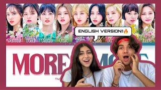 TWICE MORE & MORE (English Ver.) REACTION!!