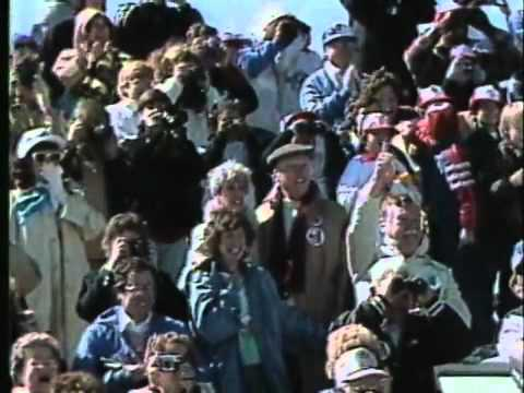 Challenger Explosion, Live Audience Reaction, 25th Anniversary