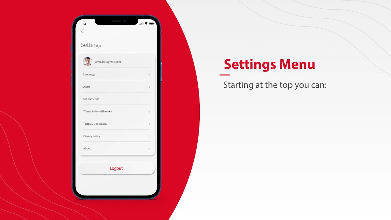 Nex-Tech Wi-Fi Manager - Learn about the Settings Menu in the App