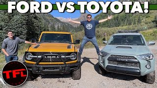 New Ford Bronco or Toyota 4Runner TRD Pro — Here Are The Two Things That Make The Bronco Better!