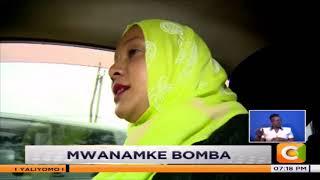 | MWANAMKE BOMBA | Mwanamke wa kwanza muislamu dereva wa teksi