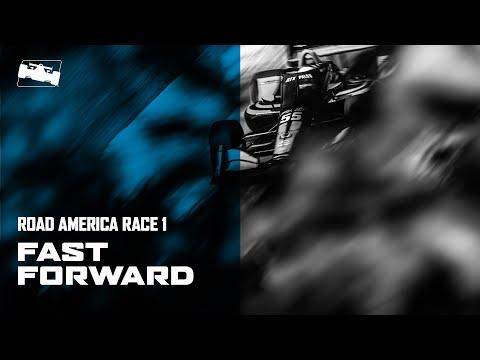 インディカー 第3戦 ロード・アメリカ レース1 30分ハイライト動画