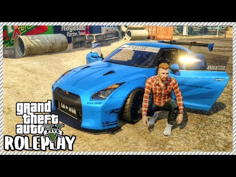 GTA 5 ROLEPLAY - Surprising Friend With New Nissan GT-R R35 | Ep. 331 Civ