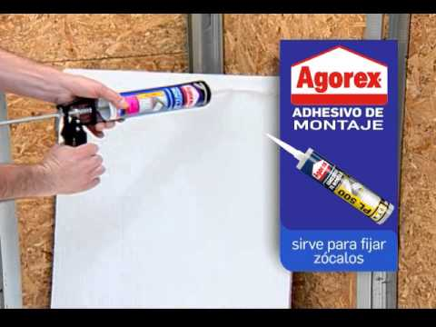 Adhesivo de montaje Agorex