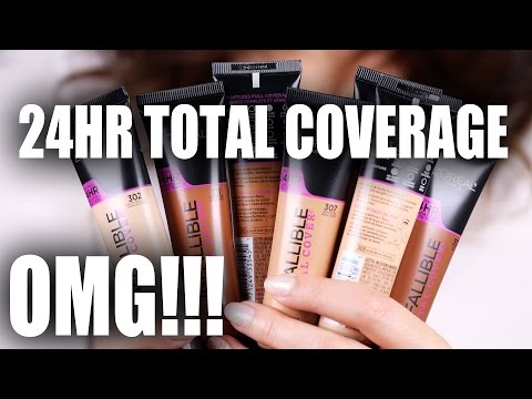 NEW 24HR FOUNDATION | Drugstore OMG