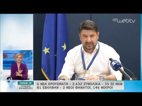 Χαρδαλιάς: «Fake-news ότι υπάρχει απαγόρευση μετά τις 12 το βράδυ» | 04/05/2020 | ΕΡΤ