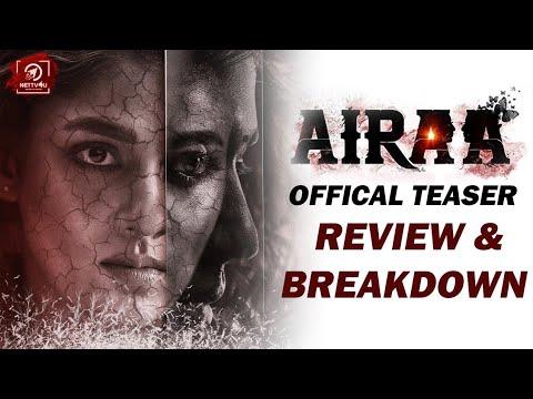 Airaa Teaser Review | Nayanthaara |..