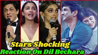 Bollywood Stars Reaction on Dil Bechara