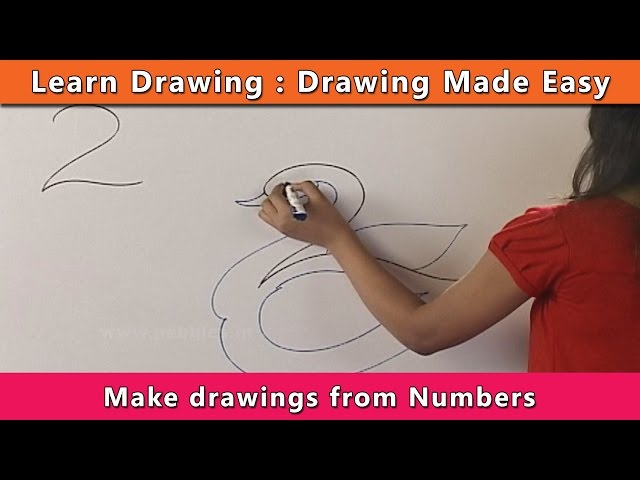 How To Draw Using Numbers How To Draw A Cute Ice Cream With A Love
