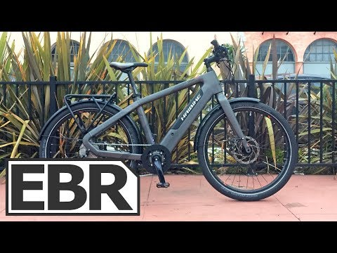 Haibike Urban Plus Video Review – $3.6k Sporty, Fast 45 km/h, Commuter Ebike