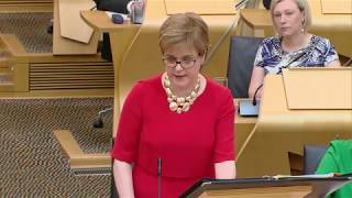 First Minister's Questions - 27 June 2019...