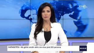 RTK3 Lajmet e orës 08:00 22.05.2020