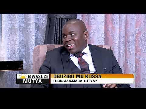 Mwasuze Mutya: Obuzibu mu kussa tubujjanjaba tutya? Dr Ivan Kisuule