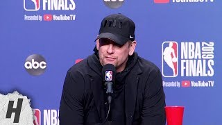 Nick Nurse Full Interview - Game 5 Preview   2019 NBA Finals Media Availability