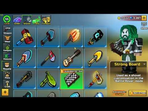 New Battle Pass Season - Pixel Gun