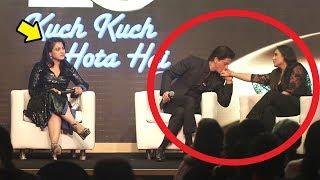 Kajol Gets JEALOUS Of Rani Mukherjee Getting LOVE From Shahrukh Khan @KuchKuchHotaHai Get Together
