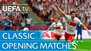 UEFA EURO opening game goals