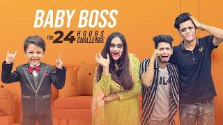বেবি বস (Boss) সবার অবস্থা খারাপ করে দিলো   Baby Boss For 24 Hours Challenge   Rakib Hossain