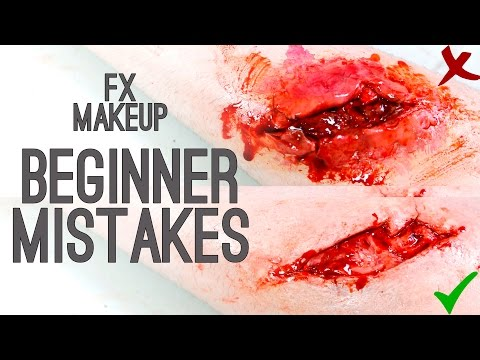 Beginner Mistakes - FX Makeup | Freakmo