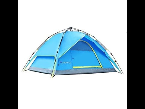 Recensione ITA Femor Tenda Istantanea da Campeggio per 3-4 Persone, Tenda Automatica Pop-up