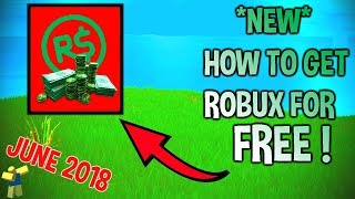 ONLY WORKING WAY TO GET FREE ROBUX! No Scams/Surveys/Downloads! 100% WORKING With Proof | JUNE 2018