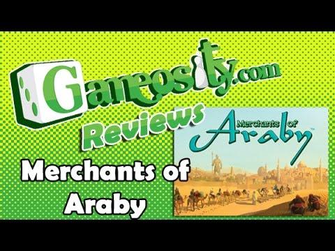 Gameosity Previews Merchants of Araby