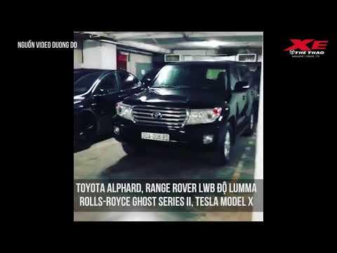 'Đột nhập' gara toàn xe đen khủng của thiếu gia chơi xe khét tiếng Hà Thành