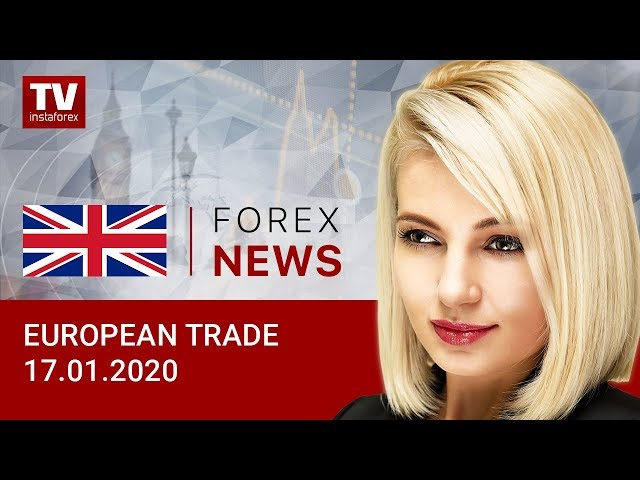 17.01.2020: Euro and pound sterling drop at end of week. Outlook for EUR/USD, GBP/USD