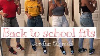 BACK TO SCHOOL OUTFIT IDEAS 2019 | JORDAN