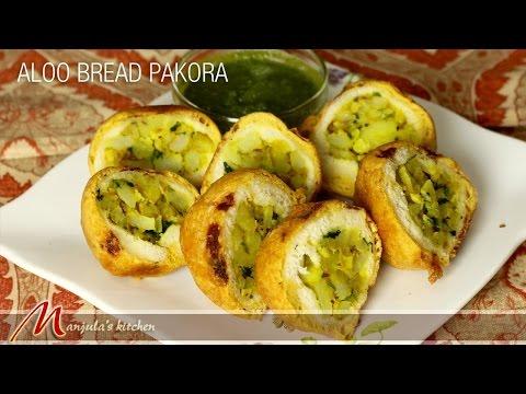 Aloo Potato Bread Pakora Recipe by Manjula