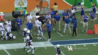 FB: Kentucky 27 Penn State 24 -  Citrus Bowl Highlights