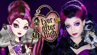 Ever After High Makeup: Raven Queen Thronecoming!​​​ | Charisma Star​​​