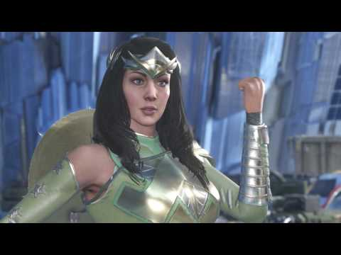 Injustice 2 Wonder Woman Get Smash Hit Boots Fabled Heroine of Themyscira Epic Gear Set