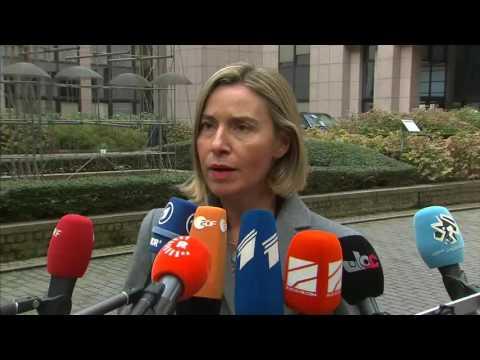 Doorsteps Federica Mogherini