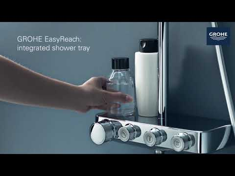 Grohe Rainshower SmartControl douchesysteem 360 - mono - chroom