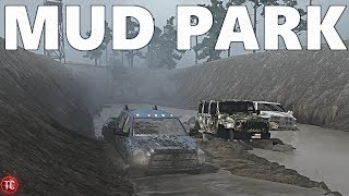 SpinTires MudRunner: NEW MAP! Frog's Mud Park
