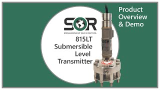 815LT Submersible Level Transmitter Overview and Demo