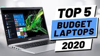 Top 5 BEST Budget Laptop (2020)