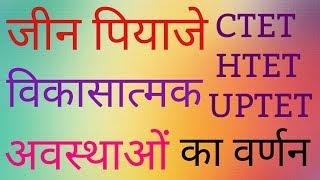 शिक्षा मनोविज्ञान ( Education Psychology) जीन पियाजे Theory By. Sunil Sir