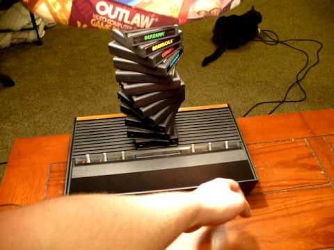 Give A Major Award To The Maker Of This Atari Lamp