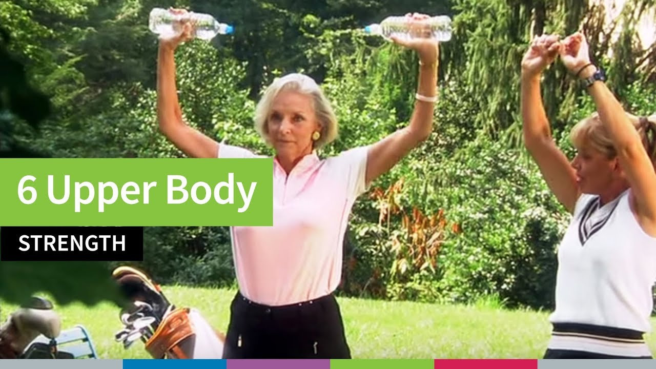 6 Upper Body Strength Exercises for Older Adults