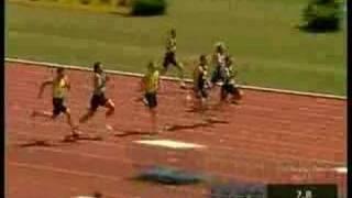 100m TNT Fortuna Meeting 2008