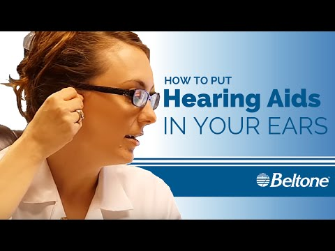 How To Put Hearing Aids In Your Ears
