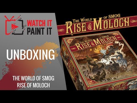 The World of SMOG : Rise of Moloch - Unboxing