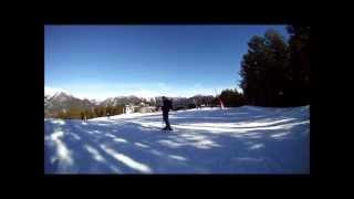 preview picture of video 'Arinsal to Pal, Andorra, 18/12/2012'