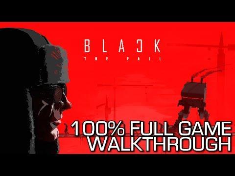 Black The Fall - 100% Full Game Walkthrough - All Achievements/Trophies & Secret Rooms