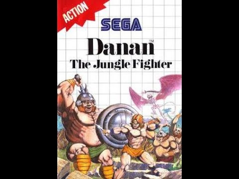Danan: The Jungle Fighter (1990) - Sega Master System