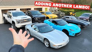 Making Room in My Corvette Collection For a New SUPERCAR!!! *BIG GARAGE UPDATE!*