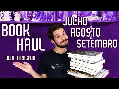 NOVOS NA ESTANTE (3º Trimestre 2018) | Book Haul | O Refúgio